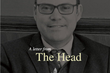 A letter from The Head - No. 20-12