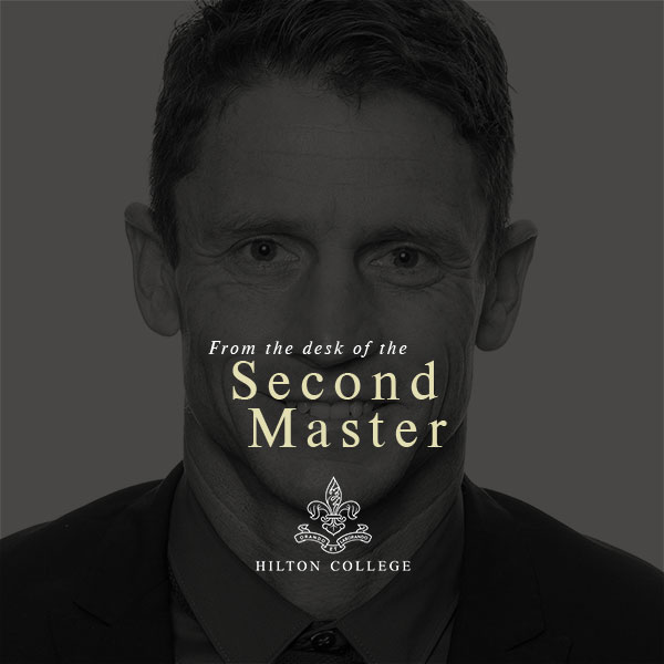From the desk of the Second Master - No. 21-01